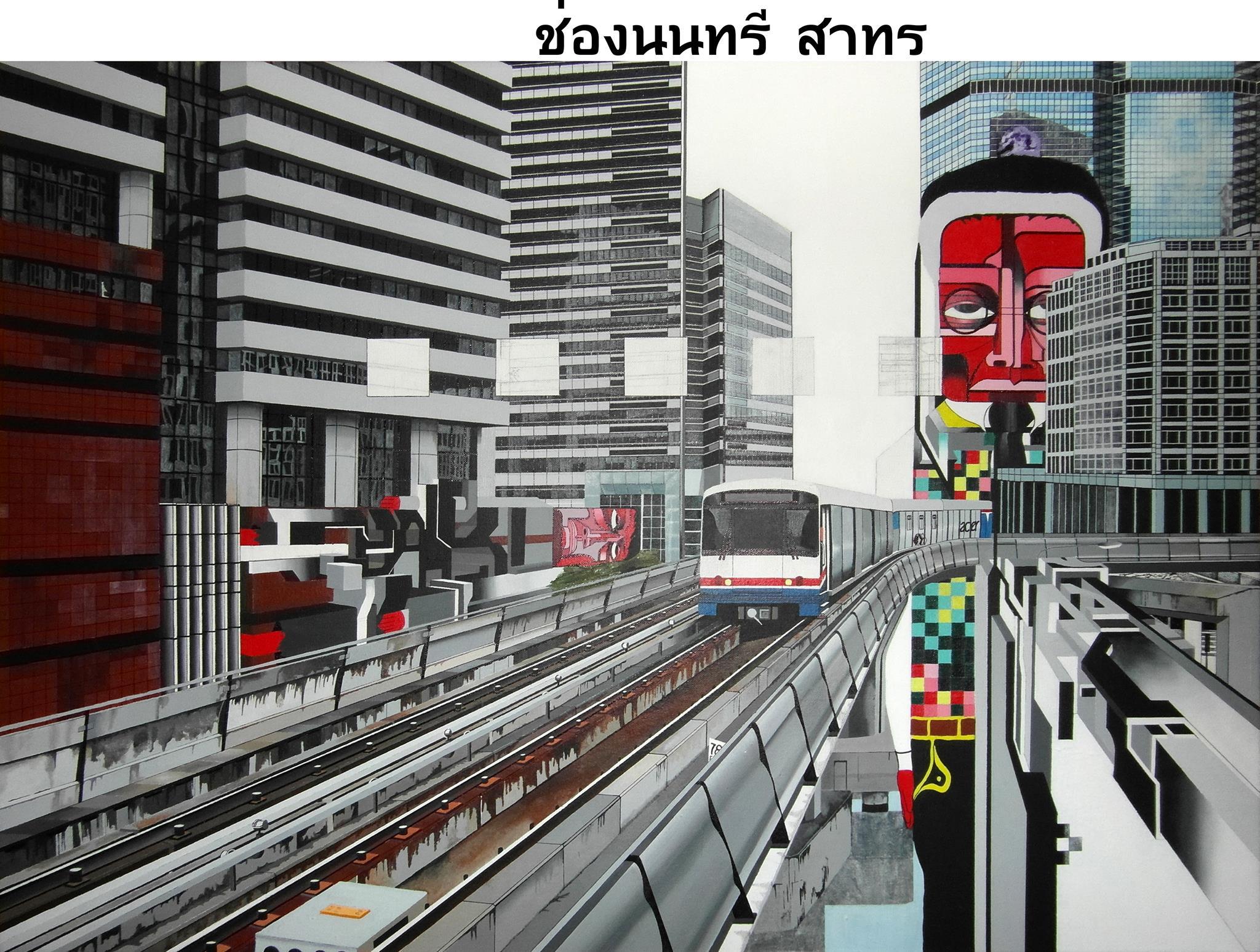 Chong Nonsi Sathon Bangkok.